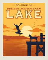 "SML Go Jump in a Lake! 8"" x 10"" Print"