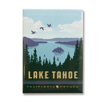 Lake Tahoe Metal Magnet