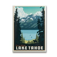 Lake Tahoe Summer Splendor Metal Magnet
