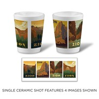 Zion Scenes Ceramic Shot