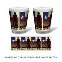 Austin Cowboy Shot Glass
