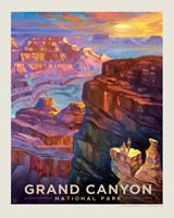 Grand Canyon Sunset 8 x 10 Print