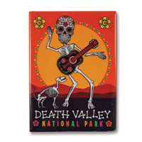 Death Valley Skeleton Metal