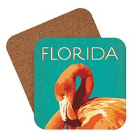 Florida Flamingo Coaster