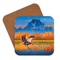 Grand Teton Sand Hill Crane Coaster