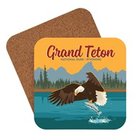 Grand Teton Eagle & Salmon Coaster