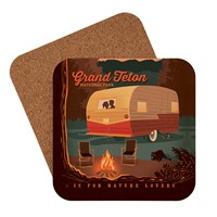 Grand Teton Camping is For Nature Lovers Coaster