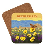 Death Valley Wildflowers Coaster