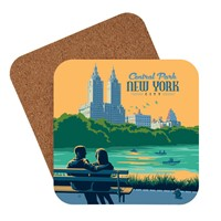 NYC Central Park Bench Coaster