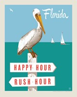 "FL Rush Hour/Happy Hour 8"" x 10"" Print"