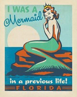 "FL Mermaid Queen 8"" x 10"" Print"