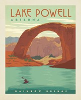 "Lake Powell, AZ 8"" x 10 "" Print"