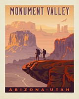 "Monument Valley AZ/UT 8"" x 10"" Print"