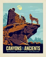 "Canyons of the Ancients 8"" x 10"" Print"