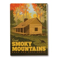 Great Smoky Noah Bud Ogle Fall Magnet