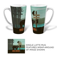 Big Bear Lake Latte Mug