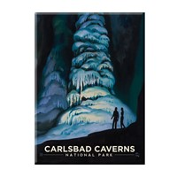 Carlsbad Caverns Hall of Giants Magnet