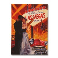 Las Vegas Wedding Magnet