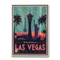 Las Vegas City of Entertainment Magnet