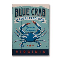 VA Blue Crab Magnet