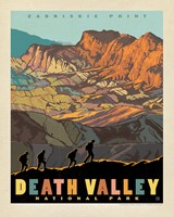 "Death Valley Zabriskie Point 8"" x 10"" Print"