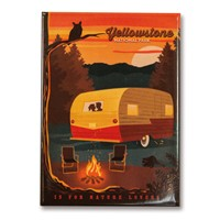 Yellowstone Camping is for Nature Lovers Magnet