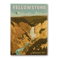 Yellowstone Grand Canyon of the Yellowstone Magnet