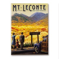 Great Smoky Mt. Leconte Magnet