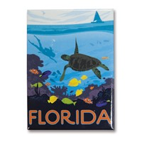 FL Sea Turtle Magnet