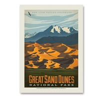 Great Sand Dunes Vert Sticker