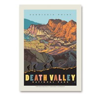 Death Valley Zabriskie Point Vertical Sticker