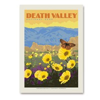 Death Valley Wildflowers Vertical Sticker