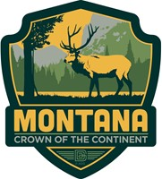 MT Elk Emblem Sticker