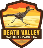 Death Valley Roadrunner Emblem Sticker