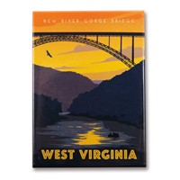 WV New River Gorge Magnet