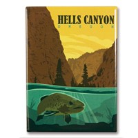 Hells Canyon, OR Magnet