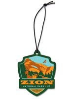 Zion Emblem Wood Ornament