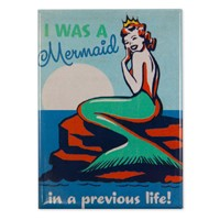 Mermaid Queen Magnet