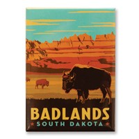 Badlands, SD Magnet