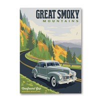 Great Smoky Hwy 441 Magnet