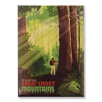 Great Smoky Old Growth Forests Magnet