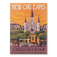 New Orleans St. Louis Cathedral Magnet