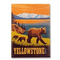 Yellowstone Lake Magnet