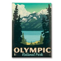 Olympic Summer Splendor Magnet
