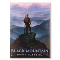 NC Black Mountain Trail Magnet