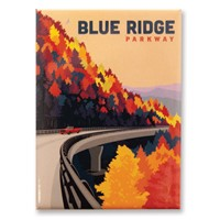 Blue Ridge Parkway in the Fall Magnet