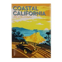 Coastal California Vertical Magnet