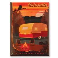 CO is for Nature Lovers Magnet
