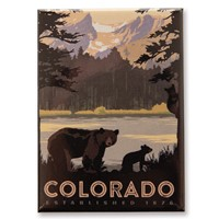 Sprague Lake Bears CO Magnet