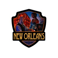 New Orleans Jazz Emblem Sticker